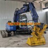 出售多规格轨道行走挖掘机国内挖掘机加装轨道行走系统