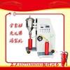 干粉灭火器充装设备打压机样图