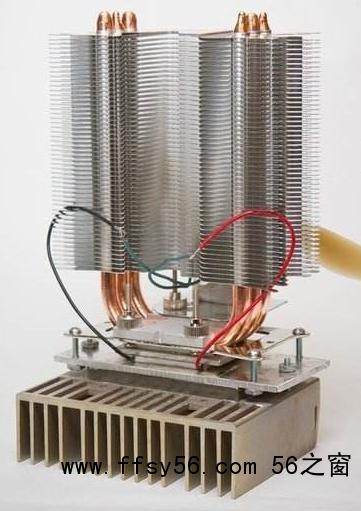 温差发电应用-大温差效果好[曼能节能]