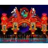 桂林彩灯制作、花灯设计、灯会安装厂家