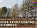 承包商收花生遭数百村民哄抢 报警也没用好几百人