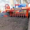 堆肥发酵、槽式翻抛机翻抛速度及槽宽槽深、型号报价