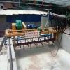 猪粪轨道式翻抛机快速堆肥发酵成有机肥、行驶电机是多少