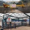 有机肥堆肥发酵设备 槽式发酵鸡粪喂猪技术工作视频