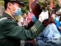 华山执勤武警刚下岗哨就被求婚 具体是怎么回事?