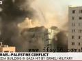 以色列确认轰炸加沙媒体大楼 哈马斯称将作出回应
