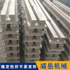威岳铸造加工铸铁地轨铸造工艺整改  铸铁导轨 槽铁 价格低点
