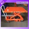 龙升电动升降平台车采用进口电动泵站使货物起升平稳有力