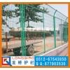 青海高速公路护栏网 公路绿化带隔离围栏网 浸塑绿色网片